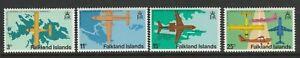 Falkland Islands 1979 Stanley Airport set SG 360-363 Mnh.