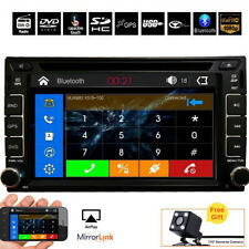 For Sony Lens GPS Double Din Car Stereo Radio DVD mp3 Player Bluetooth with Map