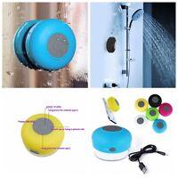 Mini Haut-parleur Enceinte Étanche Bluetooth Sans Fil Ventouse Voiture Main Lbre