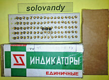 """10pcs. 3L341G = 3Л341Г  light-Emitting Diodes """" Au """" gold-plated contact in box"""