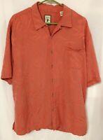 Jamaica Jaxx Authentic Island Style 100% Silk XL Shirts Short Sleeve Hawaiian...