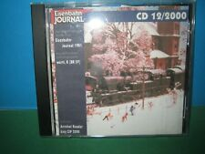 EISENBAHN JOURNAL ~ CD-ROM 12 / 2000 ONLY ~ GERMAN TEXT > VGC SEE PIC'S