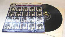 THE BEATLES 'A Hard Day's Night' 1964 Vinyl LP Black & Yellow Labels Mono - I03