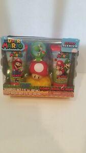 Super Mario Soap And Scrub with Yoshi bath Hook (35th Anniversary)
