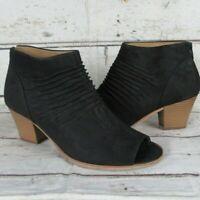 NEU! Gabor Stiefel schwarz Velour Leder m.Nieten Reißverschluss Gr.4,5 Abs.6 | eBay