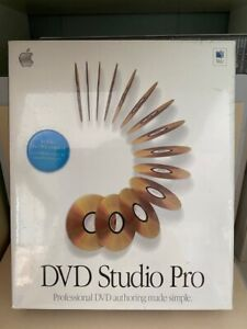 DVD Studio Pro 1.5_For Mac_Brand New
