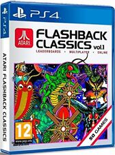 PS4 JUEGO ATARI FLASHBACK CLASSICS VOL. VOLUME 1 con 50 Jugar Producto NUEVO