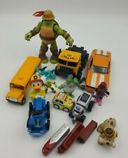 Toy Lot Collectible School Bus Donald Duck Truck Train TMNT Lofty Camaro