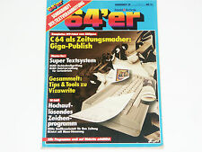 & lt 64er QUADERNO 39 & GT elaborazione di testo 64'er rivista mercato & Technik (z4g024)