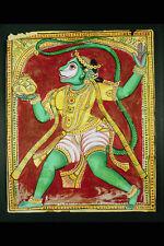 755093 Painting Of Hanuman The Monkey God Of Ramas Army Hindu India A4 Photo Pri