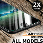 2 X Premium Tempered Glass Screen Protector For Apple iPhone 7 6 6S Plus
