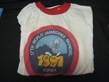 1991 World Jamboree US Contingent t-shirt         j3