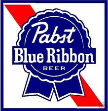 PABST BLUE RIBBON VINYL STICKER (A870) 4 INCH