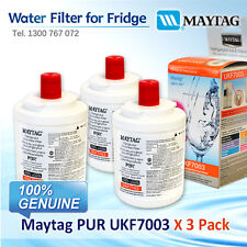 3XMaytag PUR UKF7003 Fridge Water Filter UKF7003AXX 100% GENUINE BRAND AU POST