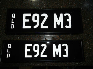 E92 M3 ** The perfect plate for your BMW E92 M3 **