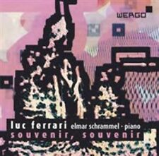 LUC FERRARI: SOUVENIR, SOUVENIR NEW CD