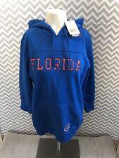 Touch Alyssa Milano Florida Gators 3 4 Sleeve Hoodie Womens M Blue NCAA NWT 499758f4e