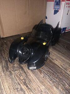 Vintage Batman Movie Dark Knight Keaton Batmobile Toybiz 1989 With Missiles