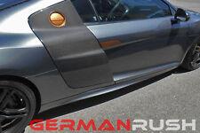 German Rush Unpainted Fiberglass Side Skirts Audi R8 V10 2007-2014