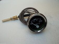 "Tractor Universal  Mechanical Temperature Gauge 72"" Lead  5/8"" UNF with 1/2 NPT"