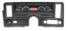 1969-76 Chevrolet Nova Black Alloy & Red Dakota Digital VHX Analog Gauge Kit