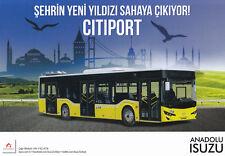 Isuzu Anadolu bus coach prospectus brochure véhicule utilitaire Turquie Turkiye 3
