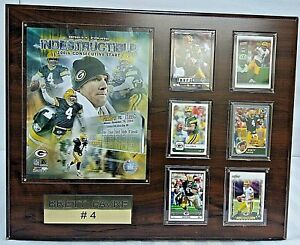 Brett Favre #4 Indestructible 200th Consecutive Start Wall Hanging Plaque 16 x20
