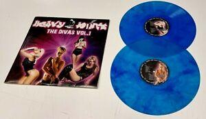 """Various """"The Divas Vol.1"""" UK 1st. Press Near Mint Blue Double Vinyl LP"""