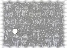 Bow-Parade grau weiß Bio Jaquard Jersey GOTS 50 cm Hamburger Liebe Biostoff Swea