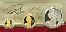 PERTH MINT AMERICAN LEGEND MARILYN MONROE GOLD & SILVER MEDALLION SET WITH COA