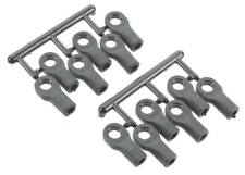 RPM Black Short Rod Ends (12) for 1/10 Traxxas - Replaces TRA5347