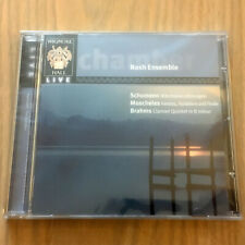 Wigmore Hall Live : Nash Ensemble Play Schumann/Moscheles/Brahms NEW CD