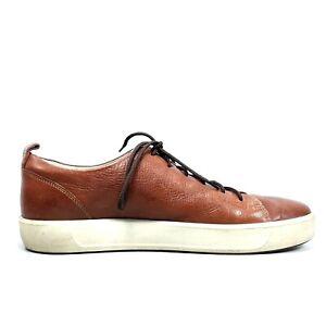 Ecco Danish Design Mens Brown Leather Oxford Casual Shoes  Size EU 46 US 12