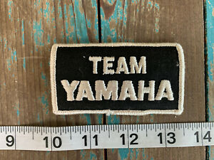 VINTAGE TEAM YAMAHA MOTORCYCLE PATCH YZ MotoGT MXGP MOTOCROSS SUPERCROSS RALLY