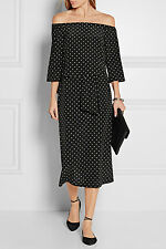Tibi polka dot silk dress size NWT 0 US