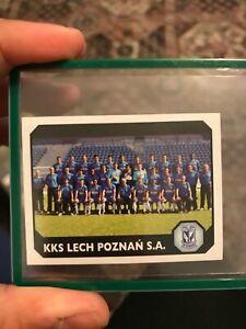 2008-09 Panini EKSTRAKLASA team photo LECH POZNAN rookie ROBERT LEWANDOWSKI