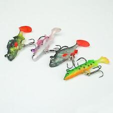 """NGT 4pc set di """"esche morbide Pike Roach trota pesce persico per la pesca Preditor"""