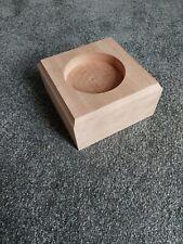 Custom made mahogany base 160mm x 160mm x 80mm