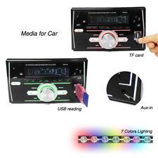 Car 2Din 7 Colors LCD Screen In-dash Head Unit USB SD FM MP3 Music Player 12V
