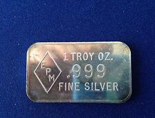 EPM Unlisted Silver Art Bar P1899