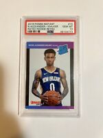 Nickeil alexander walker PSA 10 2019-20 Panini Instant Rated Rookie Retro RC GEM