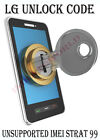 LG unlock code for LG Optimus L70- OPTUS AUSTRALIA