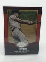 ROGER MARIS, 2011 Topps Triple Threads Card #71, New York Yankees, /1500