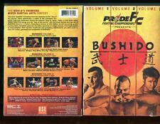 PRIDE FC - BUSHIDO: VOLUME 1-3 (DVD, 2006, 3 DISK SET) BRAND NEW SEALED -
