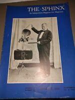 Sphinx Magazine Magicians ED RENO ISSUE 1941 Vol.XI No.6