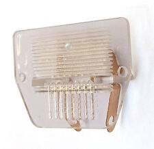 LAND ROVER SERIES V8 CLASSIC MINI NUMBER PLATE LENS LAMP WITH BULB