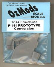 OzMods Models 1/144 GENERAL DYNAMICS F-111 PROTOTYPE CONVERSION KIT Resin Set
