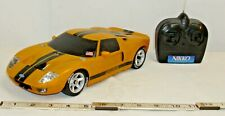 NIKKO FORD GT REMOTE CONTROL RC CAR IN YELLOW