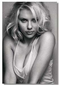Scarlett Johansson Hot Sexy Movie Star Art Silk Poster 13x20 24x36 inches 004