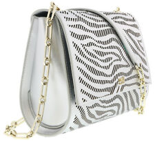 Class Roberto Cavalli  Silver Small Shoulder Bag Audrey 001